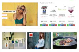 Online-Project for Sale | Shopping & Lifestyle Portal www.interestshare.de - Preisvergleich
